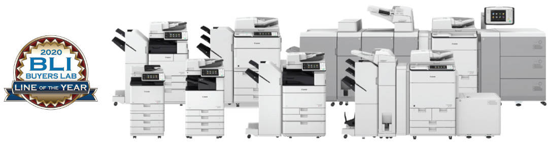 Canon imageRUNNER ADVANCE Multifunction Copiers - 2020 Line of the Year